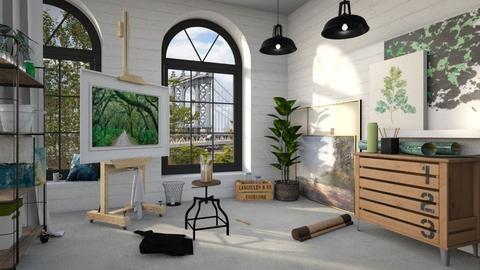 Artist Studio - by Harleen Quinzel