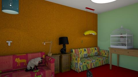 Kids room 05 - Kids room - by muleok