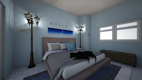 Nautical Bedroom - Bedroom - by ellarowe224