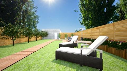 tuin hoek6 - Garden - by smuldersfleur