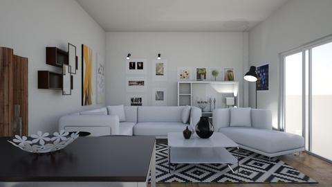 IKEA - Living room - by matina1976