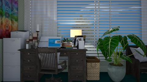 boho office - Office - by allday08