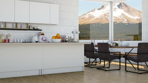Breakfast  - Modern - Kitchen - by InteriorDesigner111