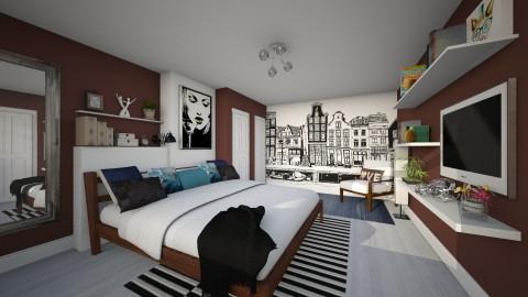 Bedroom redesign - Modern - Bedroom - by Lizzy0715