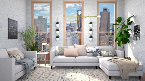 Template room - Living room - by lovedsign