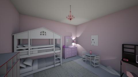 Girls Bedroom - Feminine - Bedroom - by shonigman24