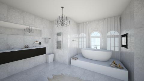 ice marble - Bathroom - by rozay95