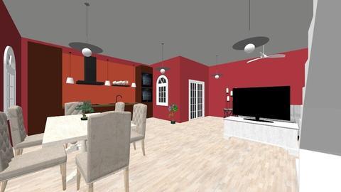 1st Room - Modern - Kitchen - by Crystaline886