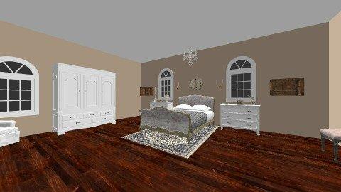 french  - Bedroom - by Lillie Gardner