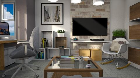Office for Max  - Office - by meggle