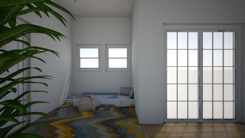 Cozy Bedroom - Bedroom - by TheSeaHorse