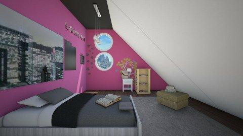 sleep in attic - Minimal - Bedroom - by anirah