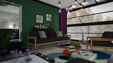 M_Scac - Living room - by milyca8