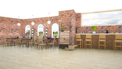 Cozy Restrant - Kitchen - by lorijodoyle