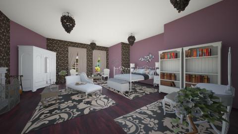 Ivana - Vintage - Bedroom - by Ivana1307