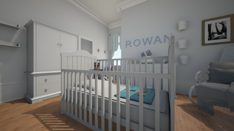 baby boy - Classic - Kids room - by donella