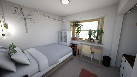 Room 3rd Round - Bedroom - by linc
