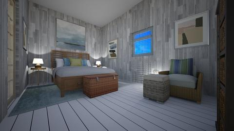 sea side  room - Eclectic - Bedroom - by decordiva1