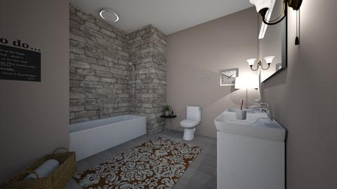 Dream Home Bathroom - Bathroom - by ellarowe224