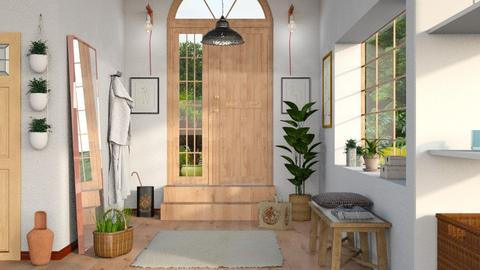 Entrance - Rustic - Living room - by Sally Simpson
