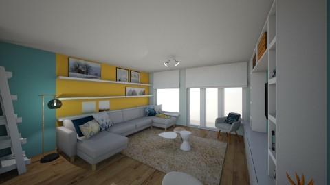 S en D zithoek - Living room - by carmen_geerts