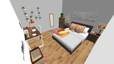 My Dream Room - Feminine - Bedroom - by kathope02
