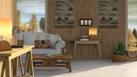 Aspen Chalet Template - Living room - by ZuzanaDesign