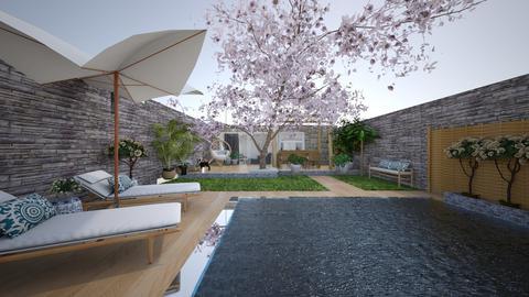 IH Elegant cozy garden 2 - Garden - by aleksandra8