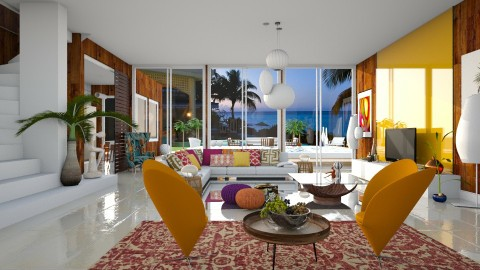 Samba - Modern - Living room - by janip
