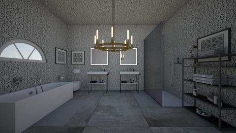 apartment 2 bath - Bathroom - by guyciara87