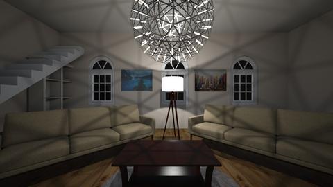 Fancey Living Room - Modern - Living room - by ljthompson01