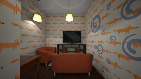 fox orange - Country - Living room - by Galaxyfoxgirl01