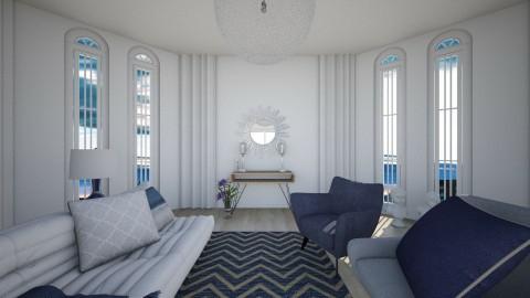 Blue room - Classic - Living room - by endigbg