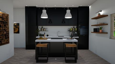 Haring Oak - Kitchen - by oanav