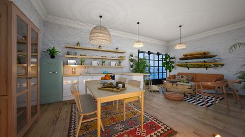 surfers kitchen - by Marina Struwig