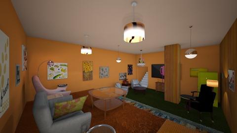 268 - Retro - Living room - by Jade Autumn