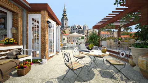Rooftop  - Garden - by maja97