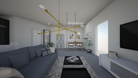 Amit Living 77 - Living room - by erlichroni