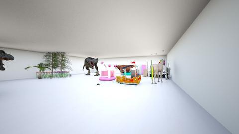 Daniel Daniel Room Projec - Feminine - Bedroom - by Daniel Zeltser