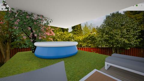 Back Yard - Garden - by Skwood