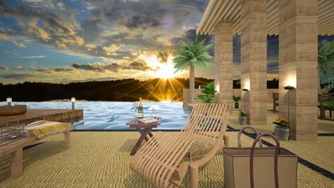Paradise Resort - Garden - by KimAlys