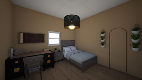 Megan Room - Bedroom - by Kamilababala1