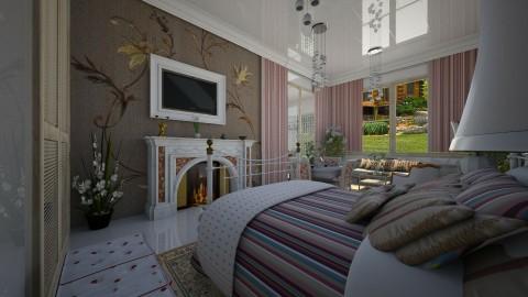 Romântico   - Bedroom - by Maria Helena_215
