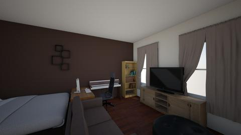New room v2 - Masculine - Bedroom - by danielthramm