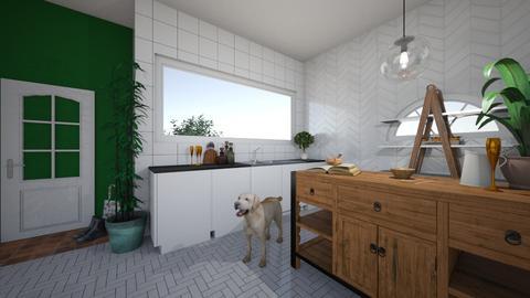 garden kitchen - Kitchen - by luckyducky102