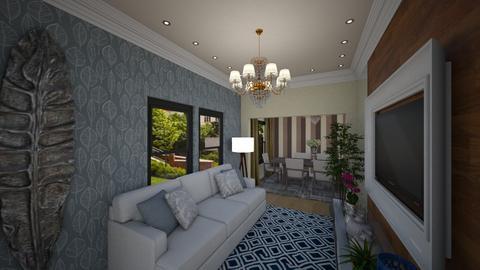 casa do jorge - Living room - by teodora070177