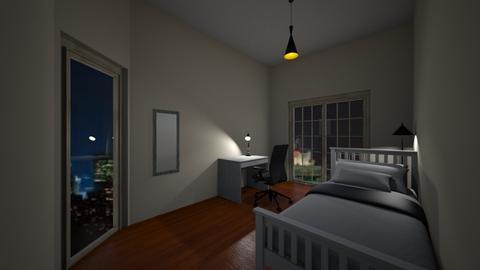 student bedroom in Patra - Bedroom - by theofania311