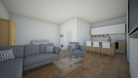 One room house 2 - by elisa sagie
