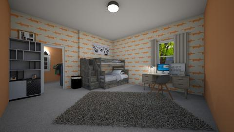 Fox Trot - Kids room - by neverlanddesigns