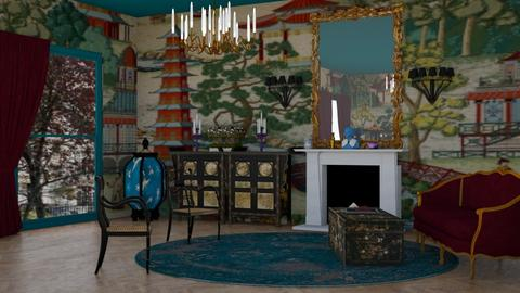 maximalist style - Eclectic - Living room - by kitty